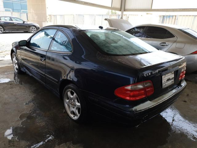 Used MERCEDES BENZ CLK 320C for sale - 2/5