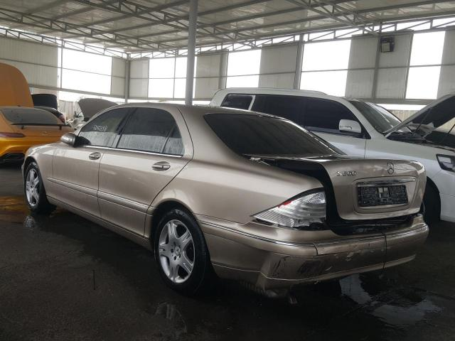 Used MERCEDES BENZ S CLASS for sale - 3/6