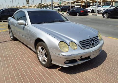 Used MERCEDES BENZ CL500 for sale